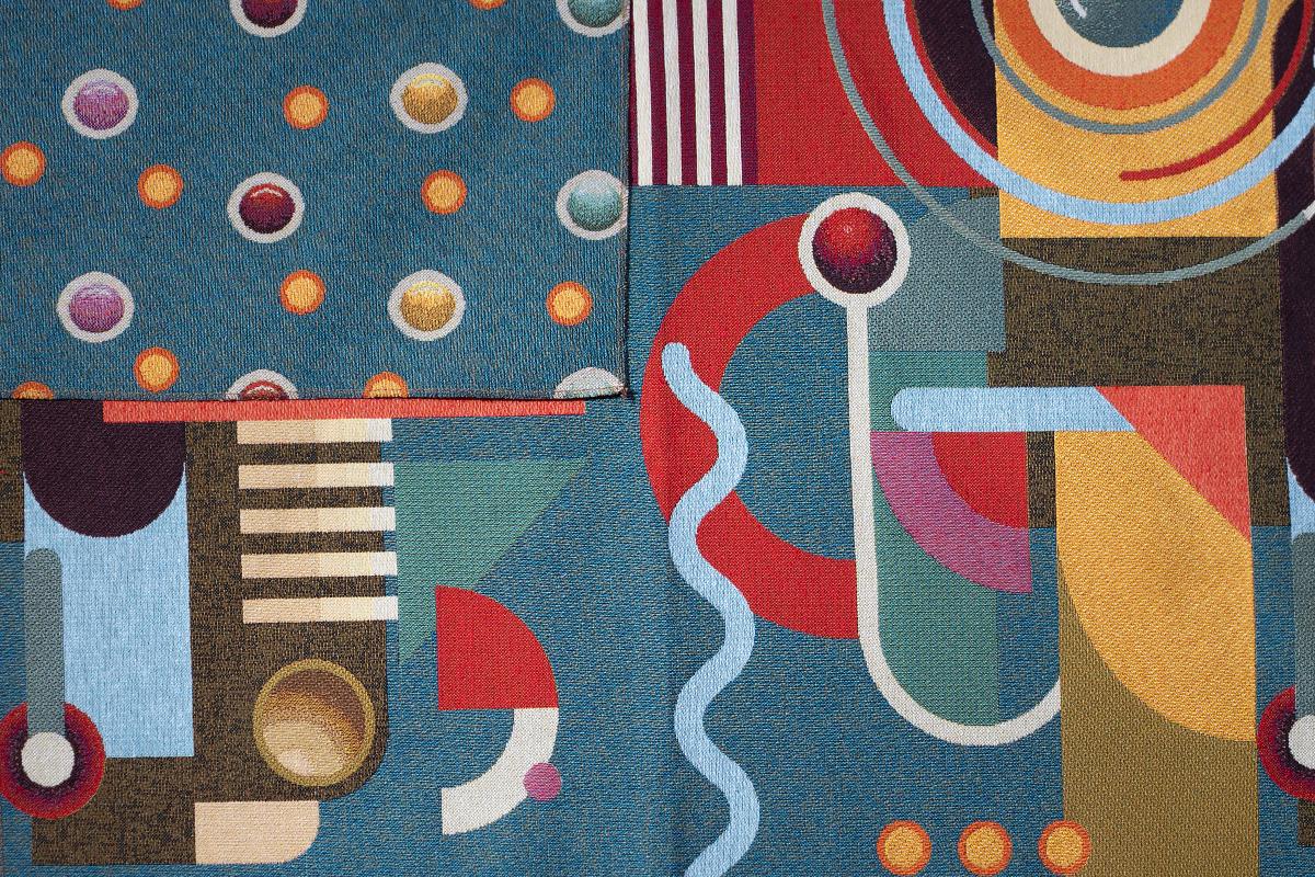 Гобелен Abstract Art для заказа пуфиков и подушек в RANGA Performance