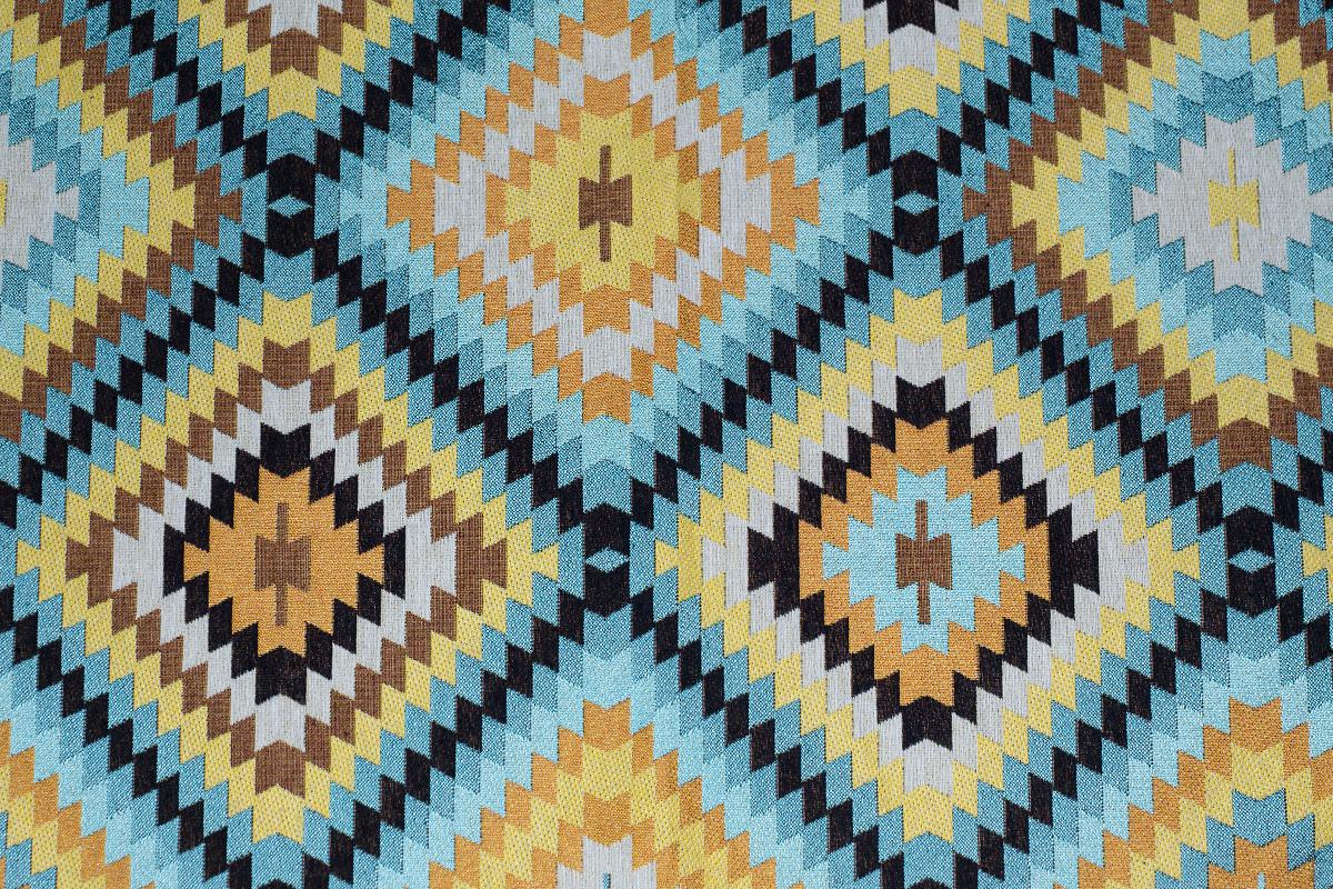 Гобелен Aztec 1 для заказа пуфиков и подушек в RANGA Performance