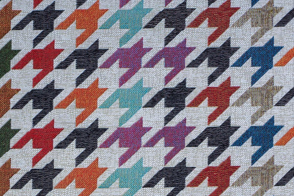 Гобелен Colored Tooth для заказа пуфиков и подушек в RANGA Performance