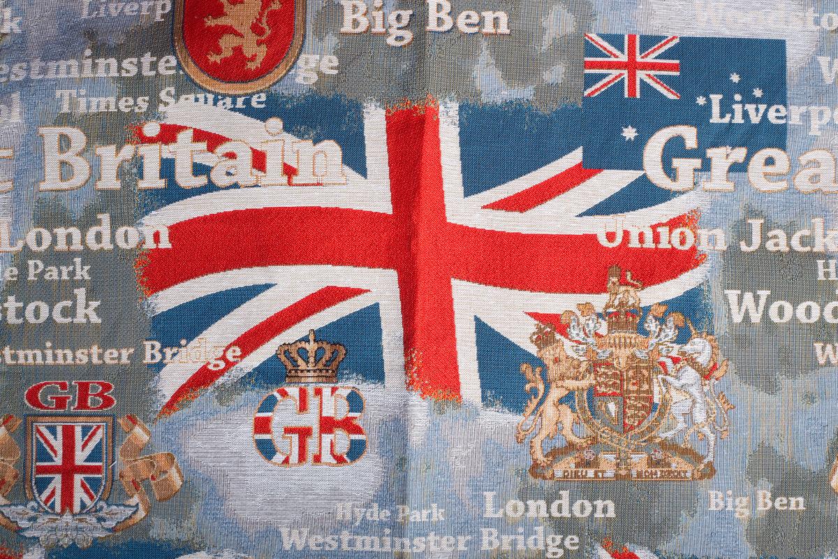 Гобелен England 2 для заказа пуфиков и подушек в RANGA Performance