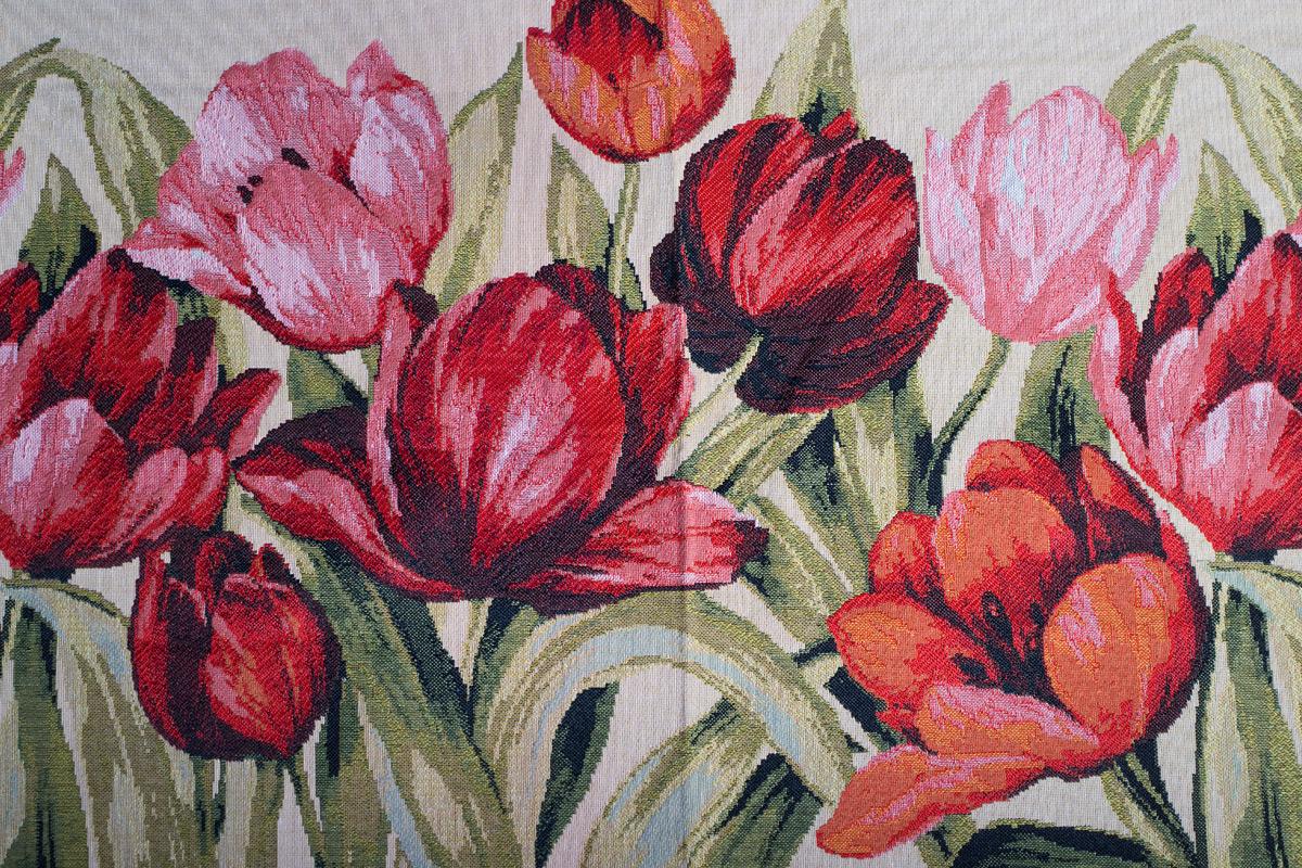 Гобелен Flowers 1 для заказа пуфиков и подушек в RANGA Performance