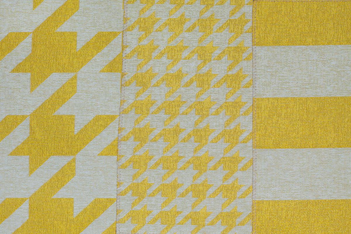 Гобелен Geometry Yellow для заказа пуфиков и подушек в RANGA Performance