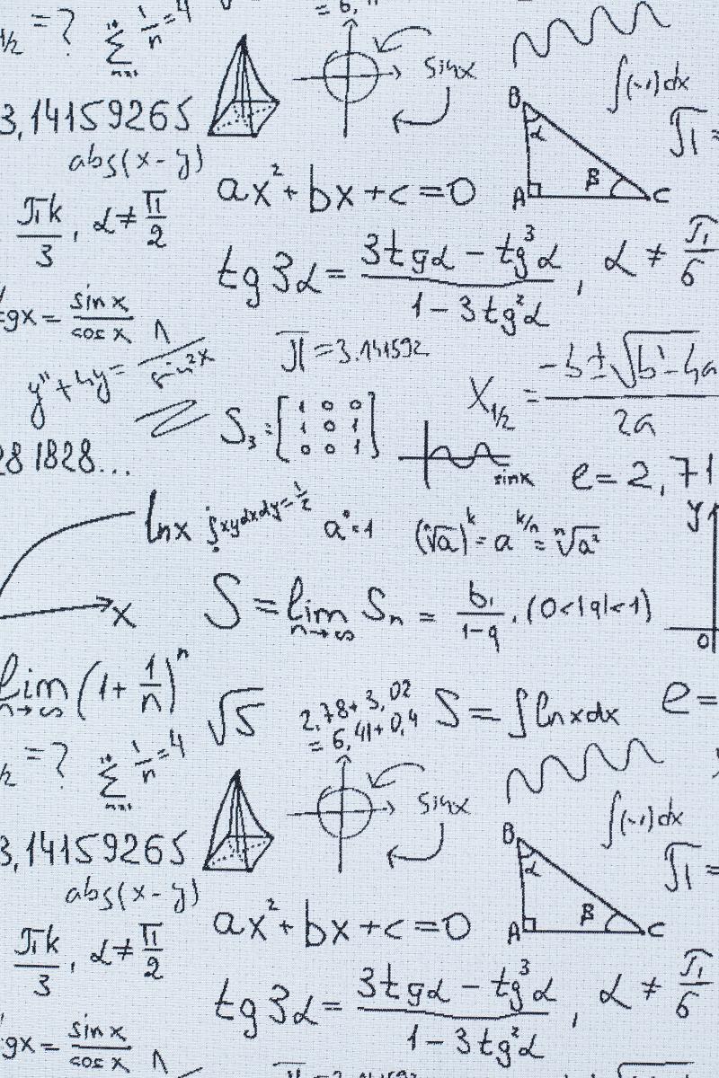 Гобелен Maths 2 для заказа пуфиков и подушек в RANGA Performance