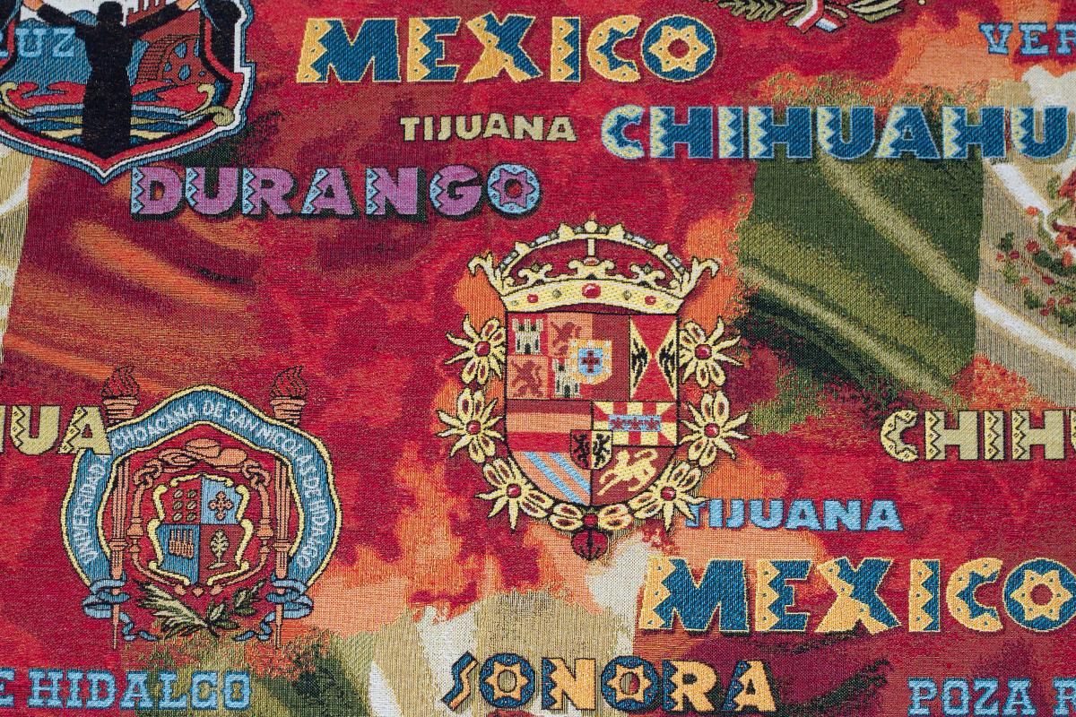 Гобелен Mexico для заказа пуфиков и подушек в RANGA Performance
