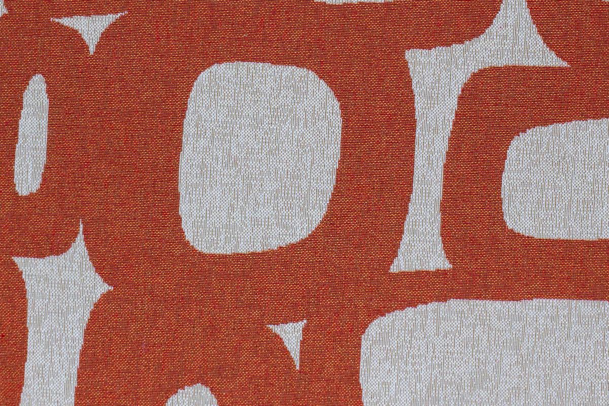 Гобелен Oval Orange для заказа пуфиков и подушек в RANGA Performance