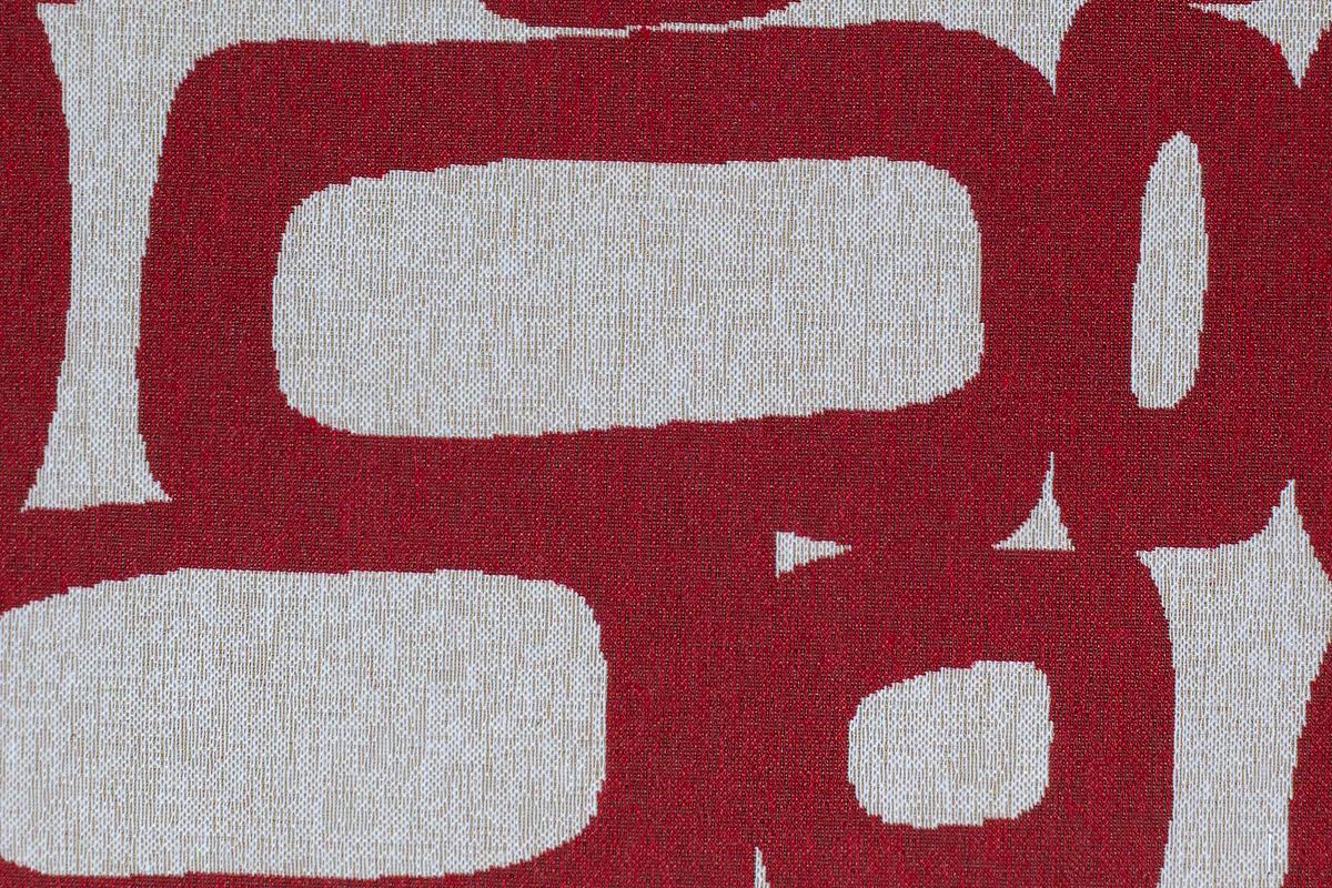 Гобелен Oval Red для заказа пуфиков и подушек в RANGA Performance