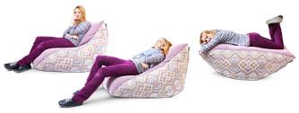 Варианты использование кресла-пуфика серии Pie