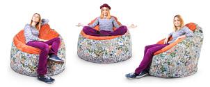 Варианты использование кресла-пуфика серии Snug
