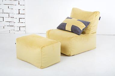 Комплект бескаркасной мебели в скандинавском стиле
