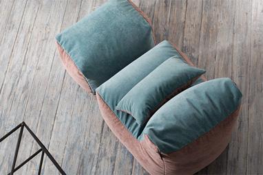 Комплект бескаркасной мебели с эффектом антикоготь