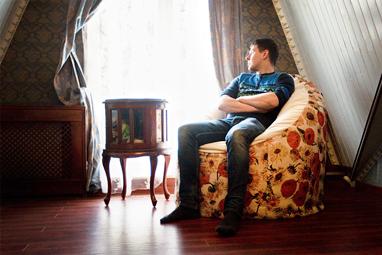Дизайнерское бескаркасное кресло с подсолнухами от RANGA Performance