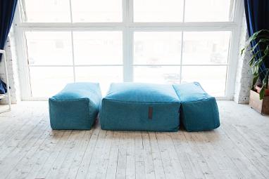 Комплект бескаркасной мебели RANGA Performance - кресло-трансформер с пуфом для ног