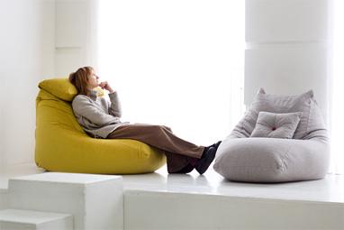 Кресла-мешки серии Pie от мастерской Ранга