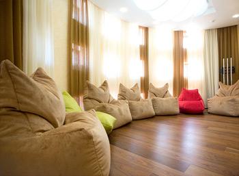 Комплект бескаркасной мебели для компании RIELLO