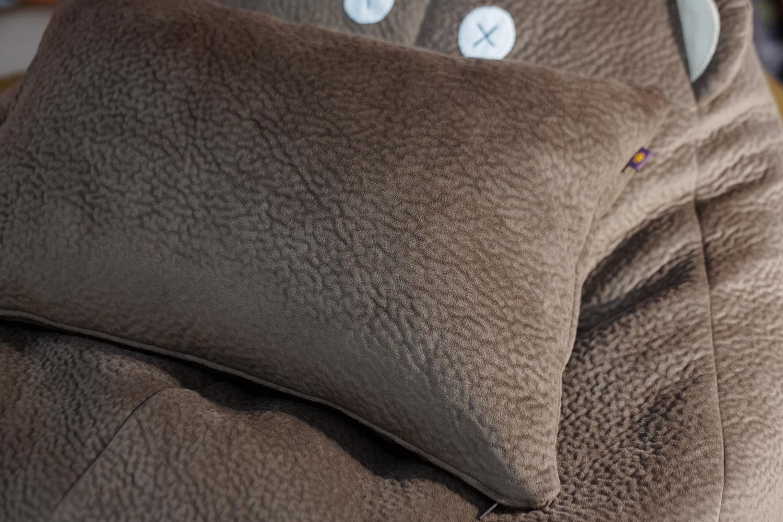 Подушка к креслу-мешку Медвежонок