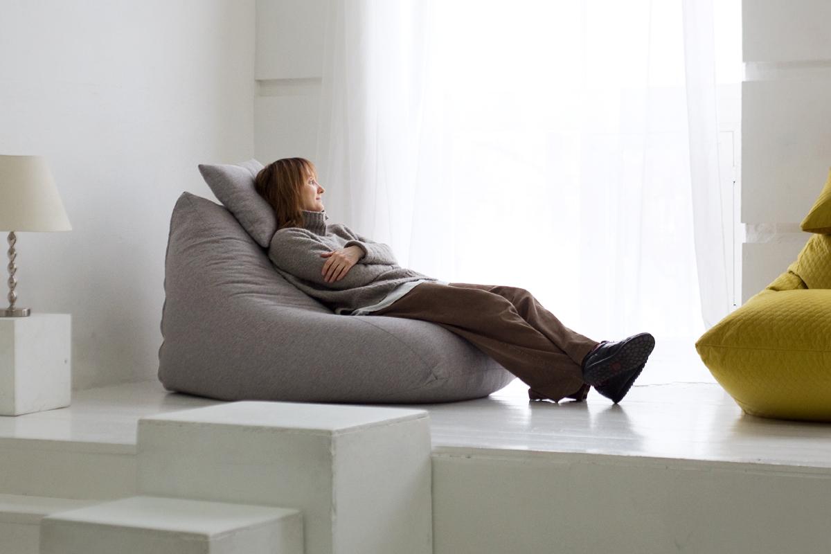 Пример кресла-пуфика из Рогожки №1
