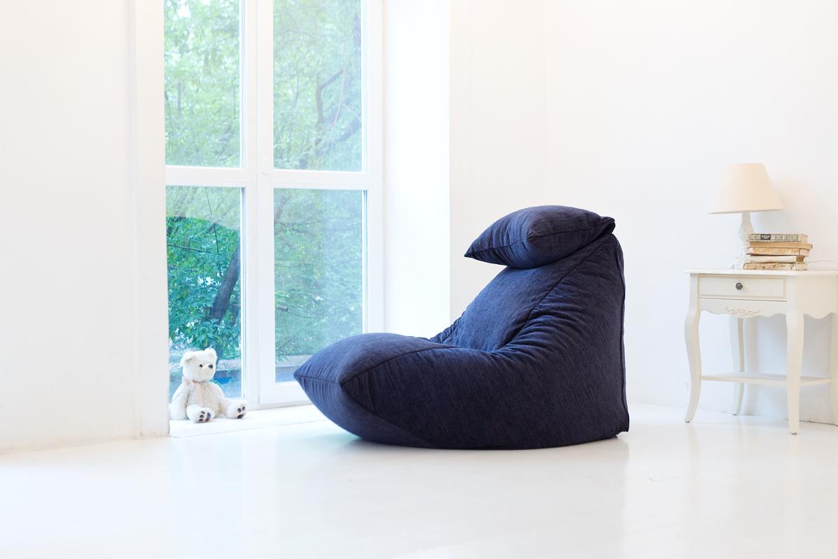 Бескаркасное lounge-кресло из шенилла #2