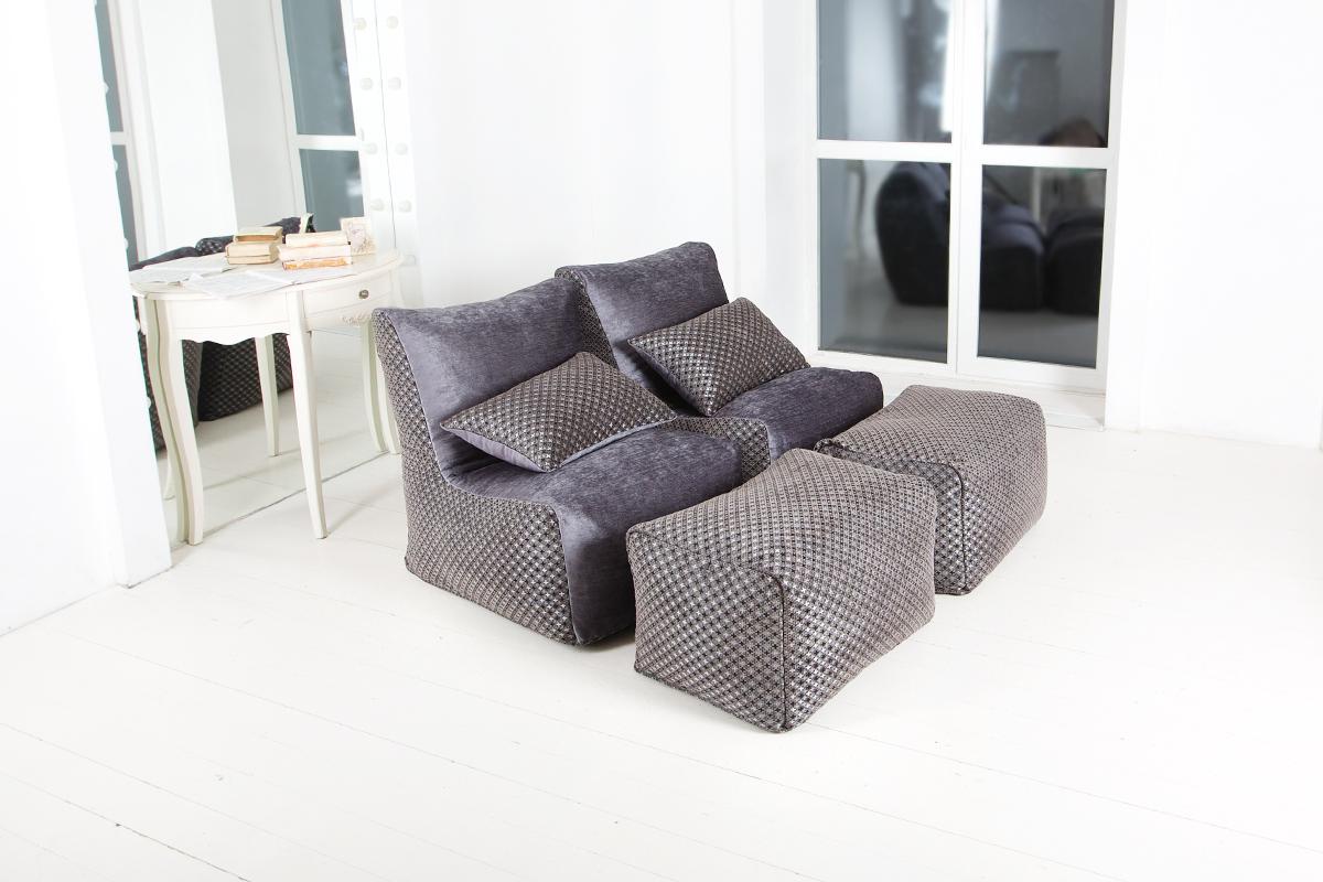 Кресла-пуфики мастерской Ранга