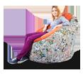 Кресло-пуфик серии Snug