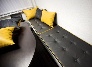 Оформление переговорная комнатаы в корпорации Проект Техника
