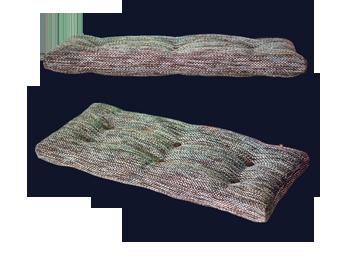 Подушка-сидушка в прихожую