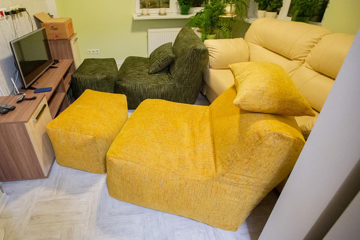 Пример комплектов Seat из шенилла по индивидуальным размерам