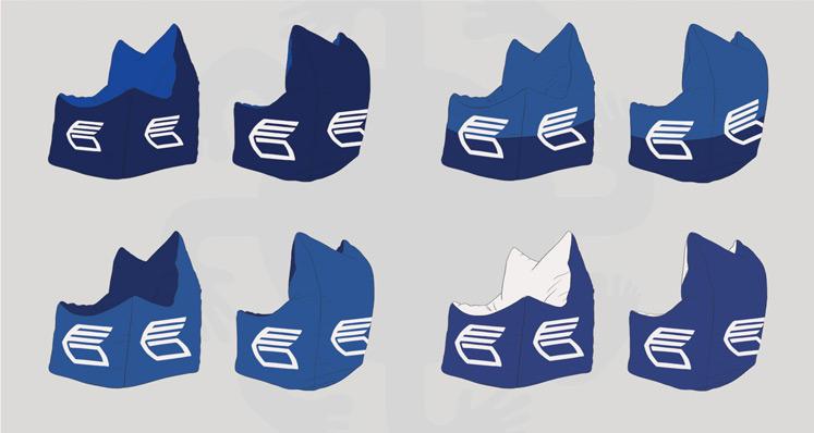 Дизайн кресел-пуфиков серии Bar для ВТБ