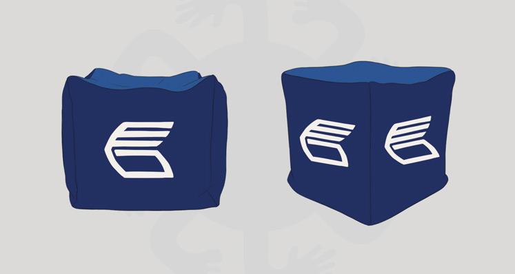 Дизайн пуфика для ВТБ